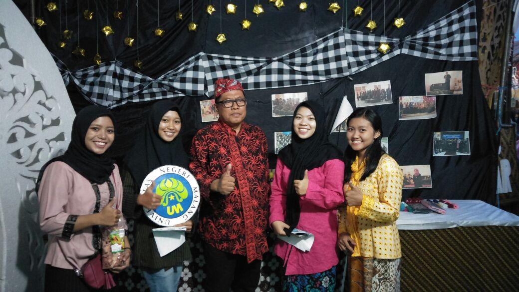 Kampus 3 Universitas Negeri Malang Kembali Berpatisipasi dalam Acara Blitar Djadoel